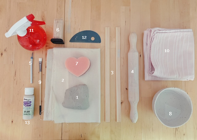 taller online de pendientes de cerámica
