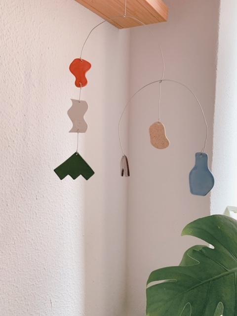 Móvil de cerámica 1